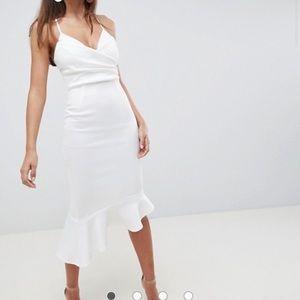 Bachelorette party white dress